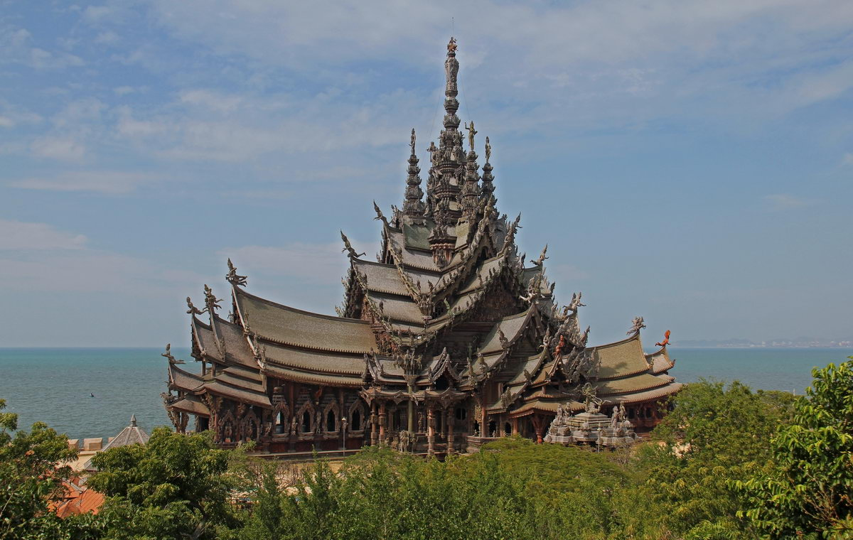 Sanctuary of Truth Pictures - Pattaya