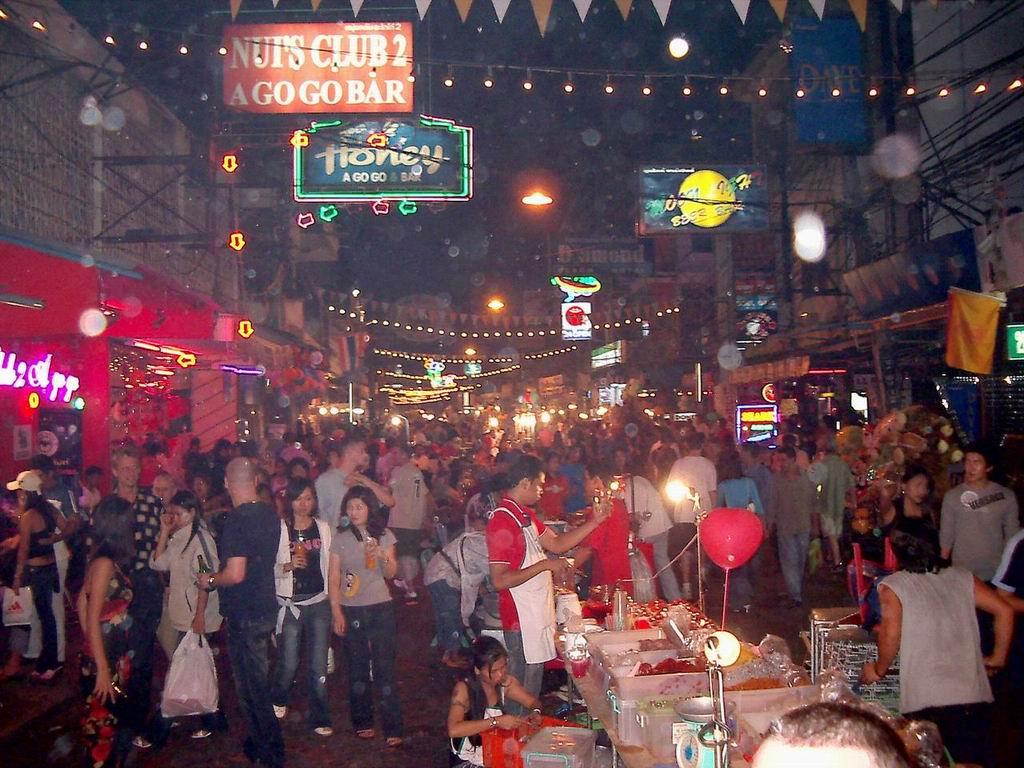Pattaya Thailand  city images : Pictures Pattaya Walking Street Thailand