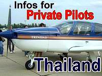 Private Pilots Thailand Info